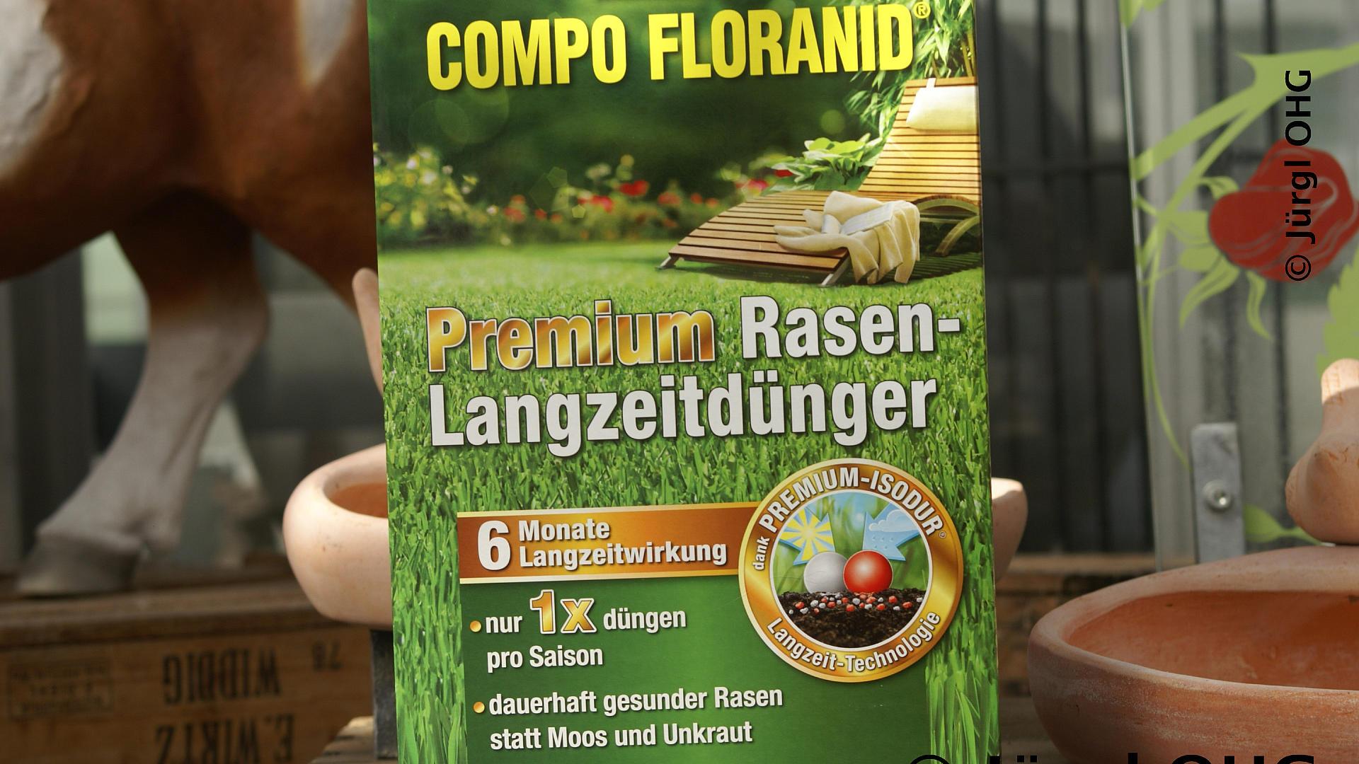 compo floranid premium rasen langzeitd nger. Black Bedroom Furniture Sets. Home Design Ideas